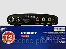 Тюнер Т2 приставка Romsat T8005HD ГОД ГАРАНТИЯ, фото 2