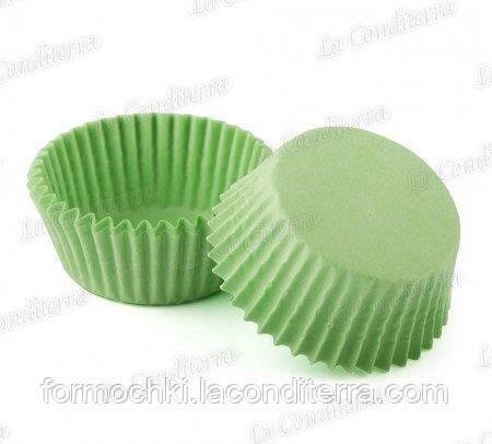 Зелені паперові формочки для кексів 5-Тубус (Ø40 мм, 200 шт.)