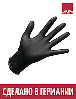 Перчатки нитриловые STYLE BLACK Ampri 100 шт черные