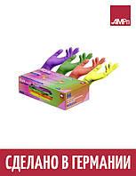 Перчатки нитриловые STYLE TUTTI FRUTTI Ampri 96 шт разноцветные