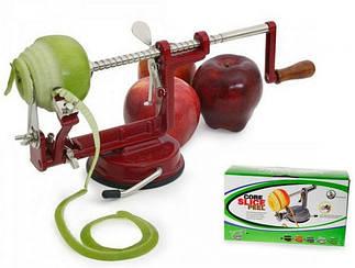 Машинка для чистки и фигурной нарезки яблок и других овощей и фруктов