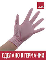 Перчатки нитриловые STYLE STRAWBERRY Ampri 100 шт розовые, фото 1