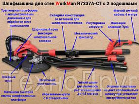 Шлифмашина для стен и потолков Workman R7237A-CT, фото 3