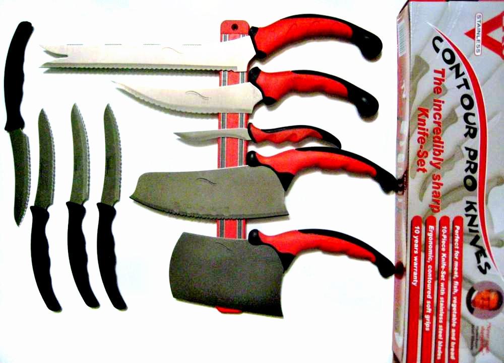 Набор кухонных ножей Contour Pro-11 предметов