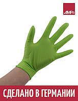 Перчатки нитриловые STYLE APPLE Ampri 100 шт салатовые