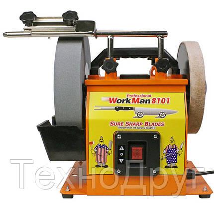 Шлифовально полировальный станок WorkMan 8101, фото 2
