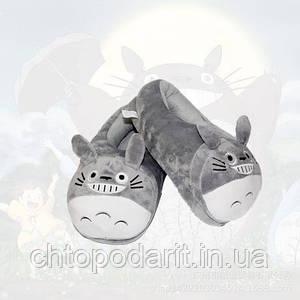 Мягкие тапочки кигуруми Кошка Код 10-2593