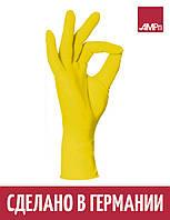 Перчатки нитриловые STYLE LEMON Ampri 100 шт желтые, фото 1