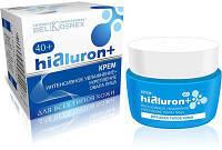 Крем интенсивное увлажнение + укрепление овала лица 40+ для всех типов кожи HIALURON+