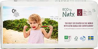 ЭКО Подгузники трусики Eco by Naty Размер 5 (от 12 до 18 кг) 34 шт