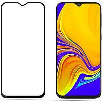 Защитное стекло Samsung Galaxy A20 (2019) Black (Клей по Всей Поверхности)