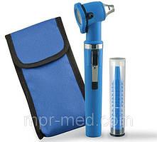 Отоскоп фіброоптичний GIMALUX F. O., 2,5 В, пластиковий корпус: синій, Італія