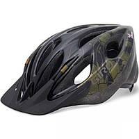 Велошлем женский Giro Venus черный/золотой Flowers, Uni (50-57) (GT)