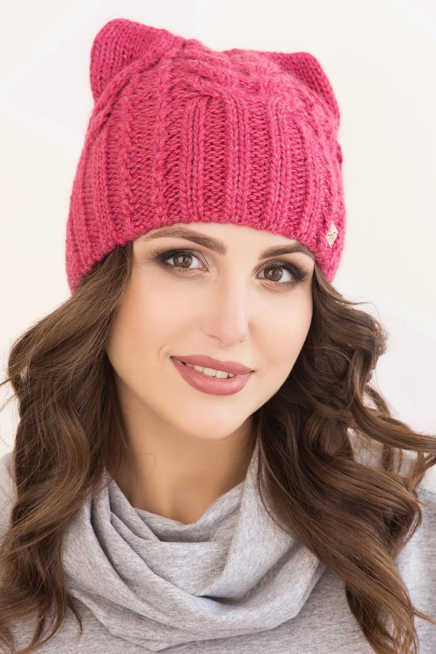 Женская шапка ушки «Регина»