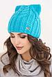 Женская шапка ушки «Регина», фото 2