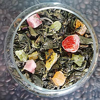 Чай зеленый с цукатами Фруктовый Рай