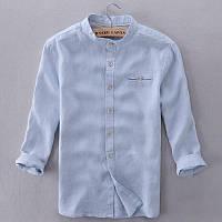 Мужская рубашка из белорусского льна.
