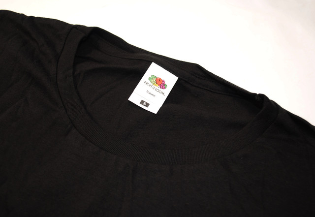 Чёрная мужская Iconic футболка