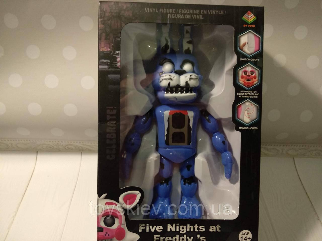 Игрушки 5 пять ночей с Фредди, Фредди / Funko Five Nights at Freddy's, Freddy N1 свет, звук.
