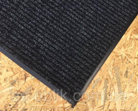 Грязезащитный ковер «Форест» (черный)