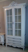 """Витрина 2-х дверная  в классическом стиле """"Регина"""""""
