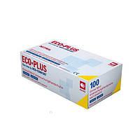 Перчатки виниловые ECO PLUS Ampri 100 шт прозрачные