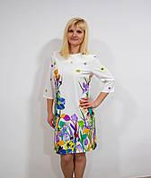 Женское платье с цветочным принтом, фото 1