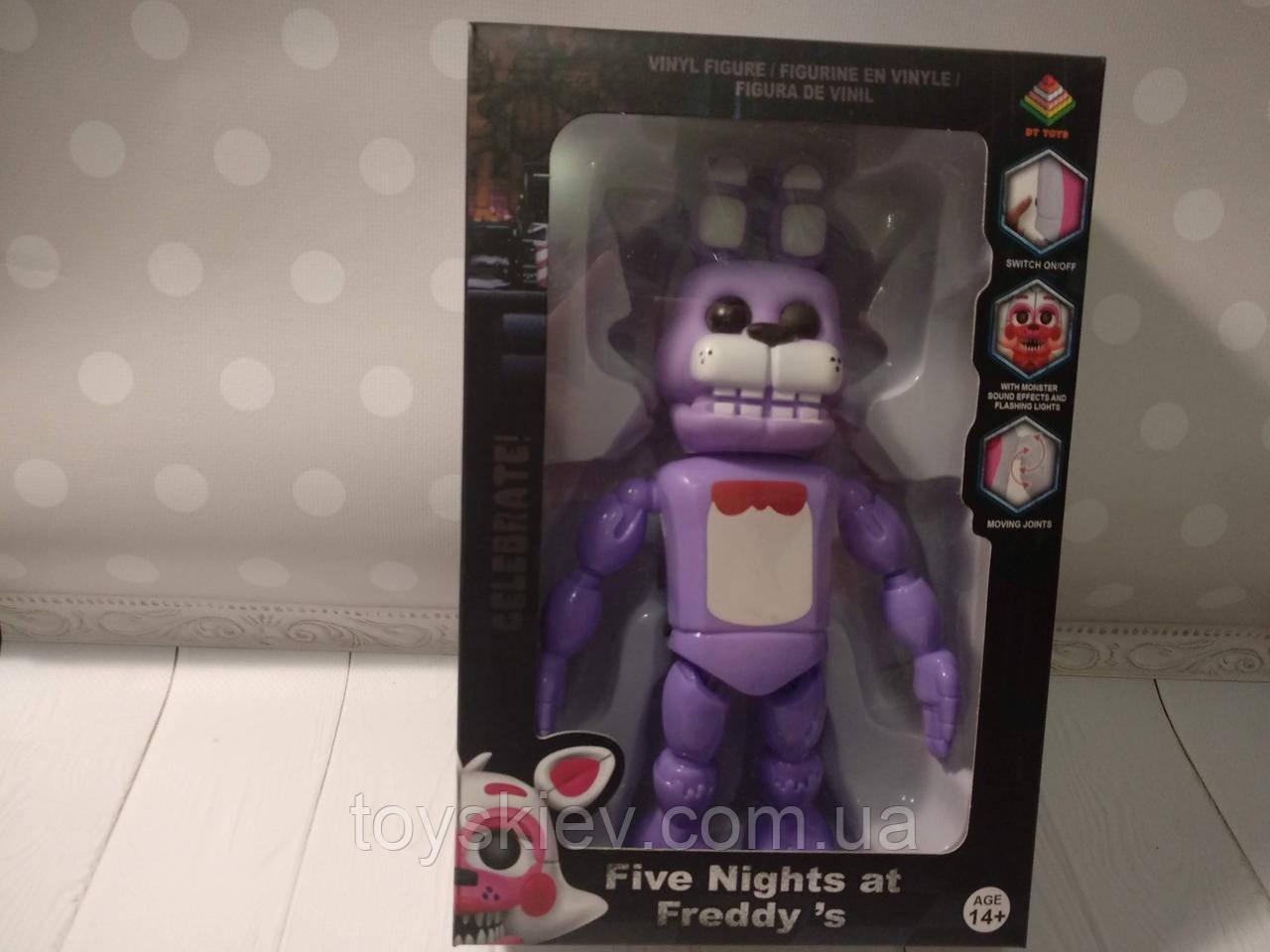 Игрушки 5 пять ночей с Фредди, Bonnie / Funko Five Nights at Freddy's, Freddy N6 свет, звук.