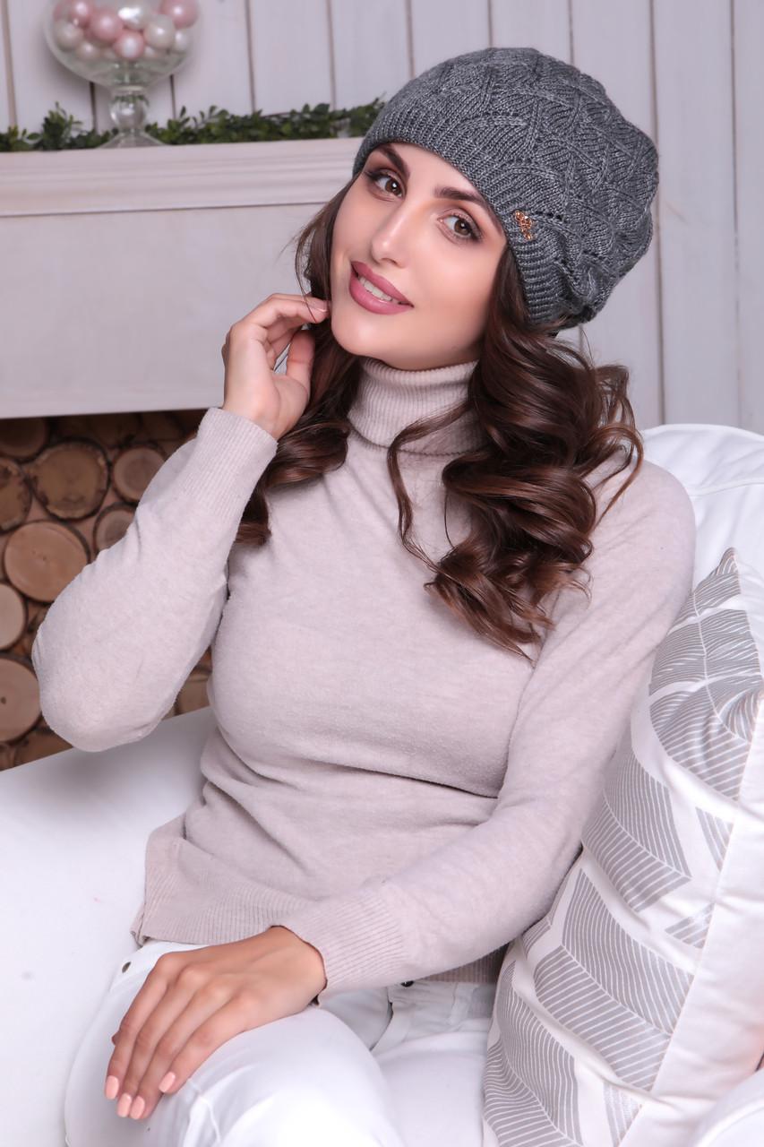 Женская шапка - берет «Роксана»