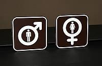 Таблички для туалетов