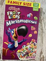 Сухой завтрак Kellogg's Froot Loops фруктовые колечки с маршмэллоу
