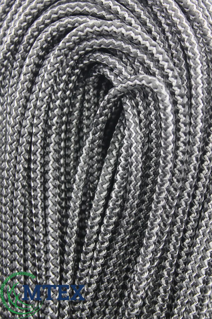 Шнур рыболовный жесткий Ø 6 мм. 200 м. + вставка шпагата ПП вязаный с сердечником.