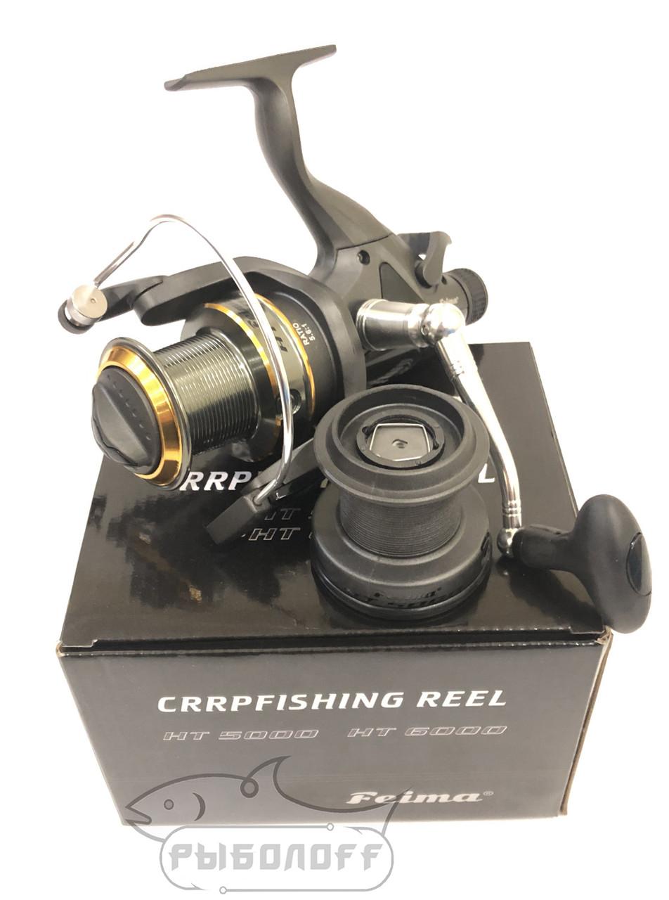 Катушка Feima CarpFishing Reel HT 6000 с байтранером 8+1 bb