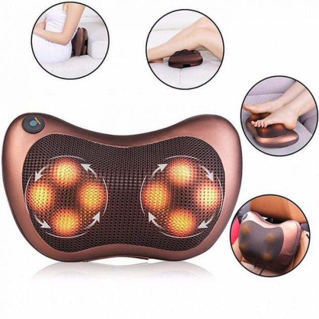 Роликовый массажер Massage pillow (массажная подушка)