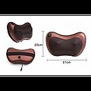 Роликовый массажер Massage pillow (массажная подушка), фото 6