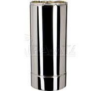 Труба термо нерж/нерж 0,5м Ф120/220мм 1мм  для саун