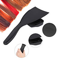 Лопатка для окрашивания волос с емкостью для краски