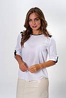 Стильная женская блуза из креп-шифона