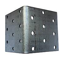 Крепежный уголок равносторонний. 60х60х60x2.0