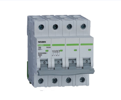 Автоматический выключатель Noark 6кА х-ка C 2А 3PN Ex9BN 100151