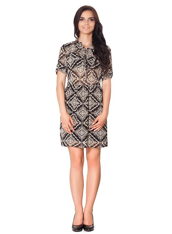 Літній шифонова сукня (розміри S-XL)