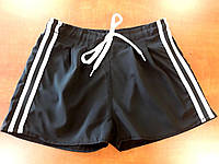 Шорты-кюлот на девочку, размер 5-8 лет, черный, фото 1