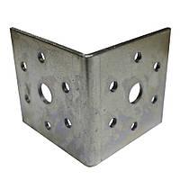 Крепежный уголок равносторонний. 60х60х60x2.5
