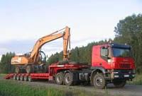 Перевозка техники и других негабаритных грузов