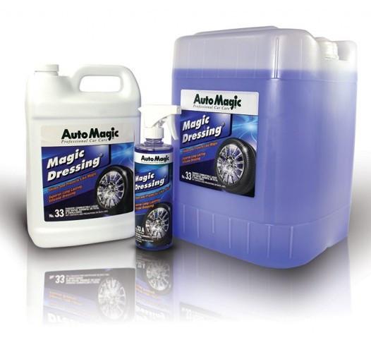 Защитное средство для ухода за твердым пластиком, резиной, колесами, винилом AutoMagic Magic Dressing №33