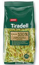 Макароны Tiradel z groszku zielonego 250 g