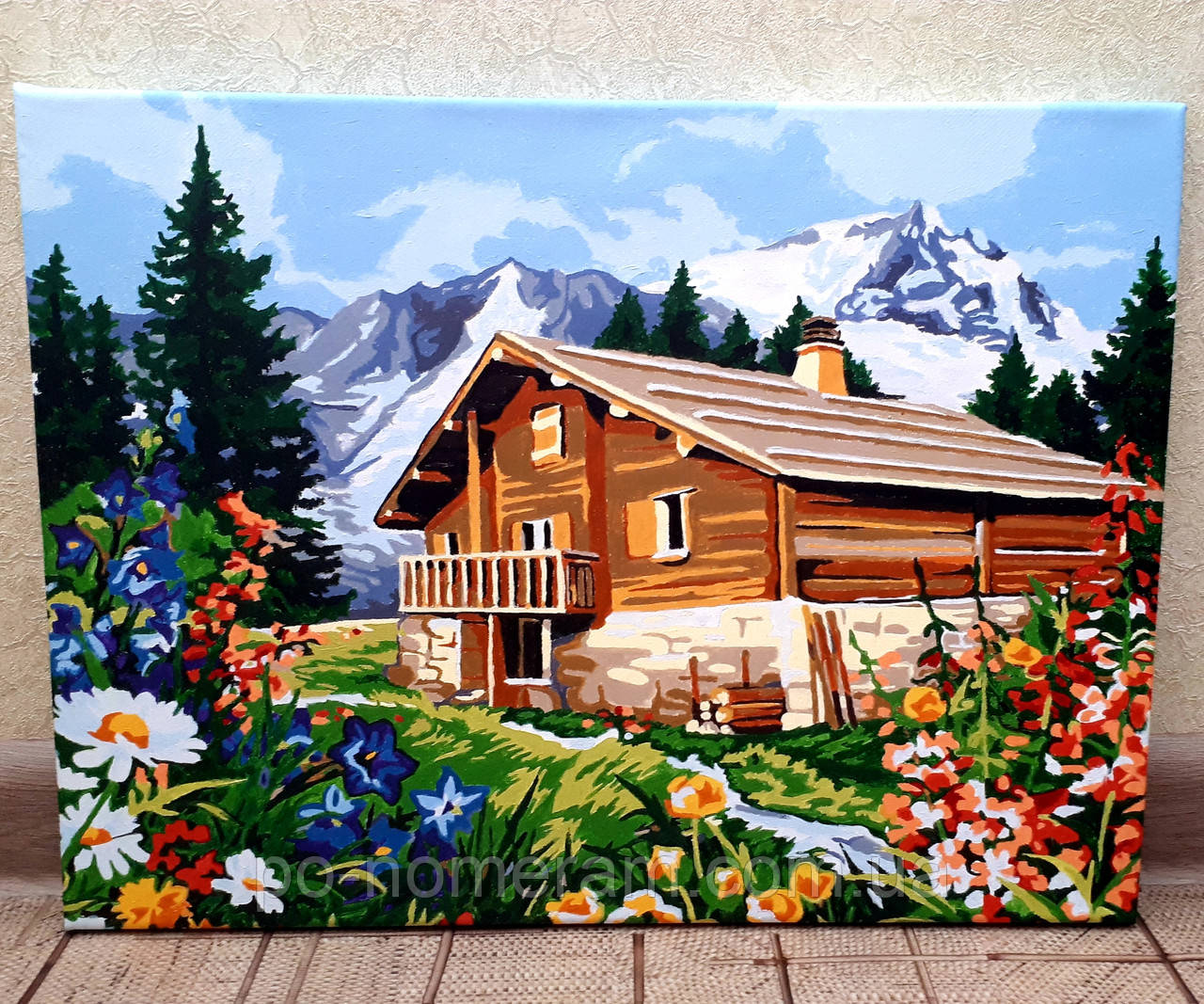 Картины акрилом на холсте нарисованные клиентами магазина ...