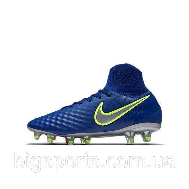 Бутсы футбольные дет. Nike Magista Obra II FG (арт. 844410-409)