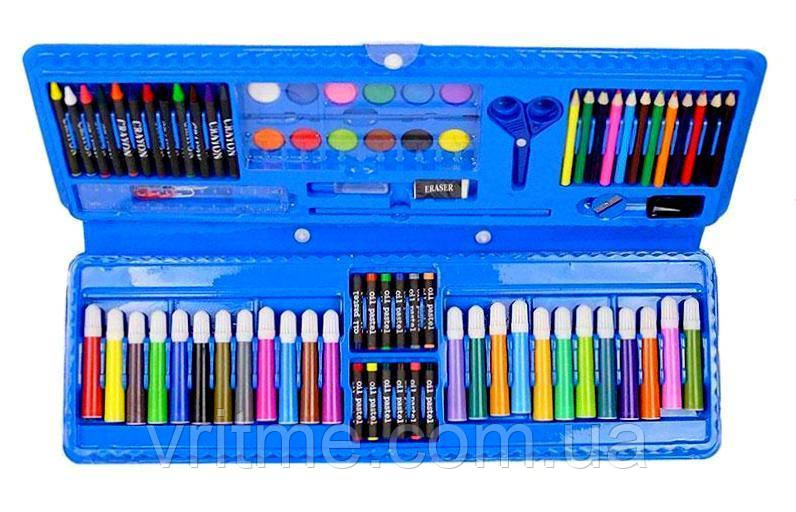 Детский набор для рисования в кейсе - 92предмета - PCS Art Set