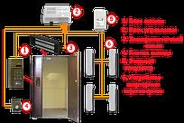 Установка (монтаж) многоквартирного домофона в подъезд